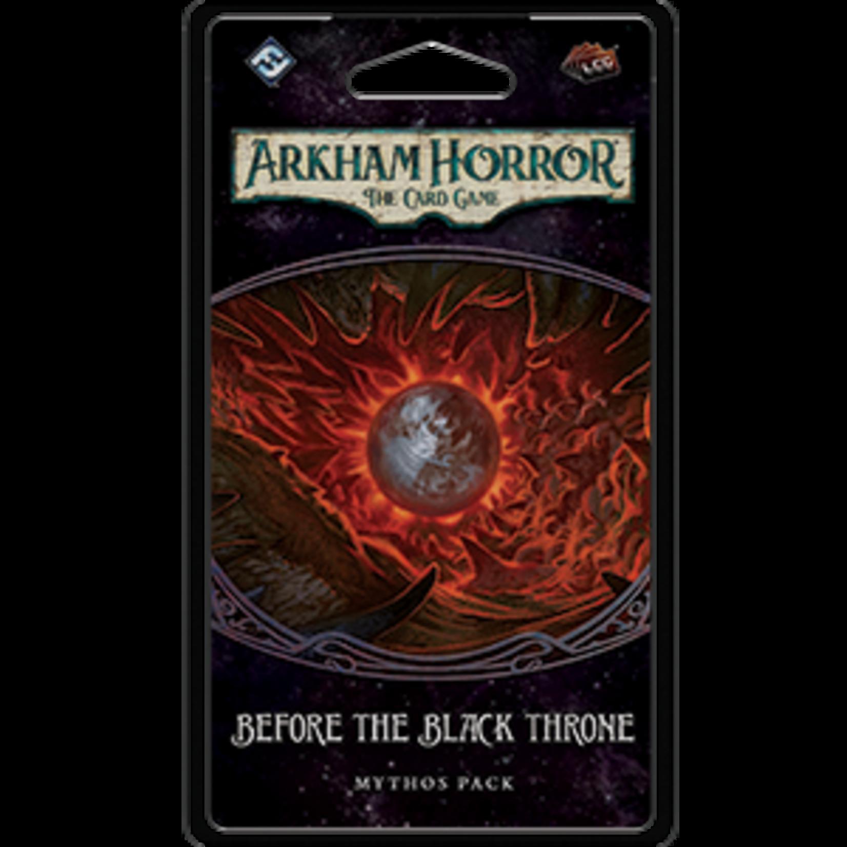 Fantasy Flight Games Arkham Horror LCG: Before the Black Throne (Expansion)