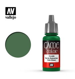 Vallejo Paint: Sick Green 72.029