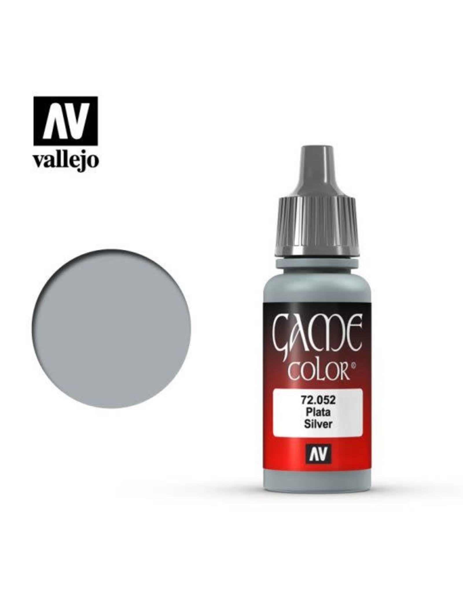 Vallejo Vallejo Game Color Paint: Silver 72.052