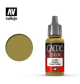 Vallejo Paint: Desert Yellow 72.063