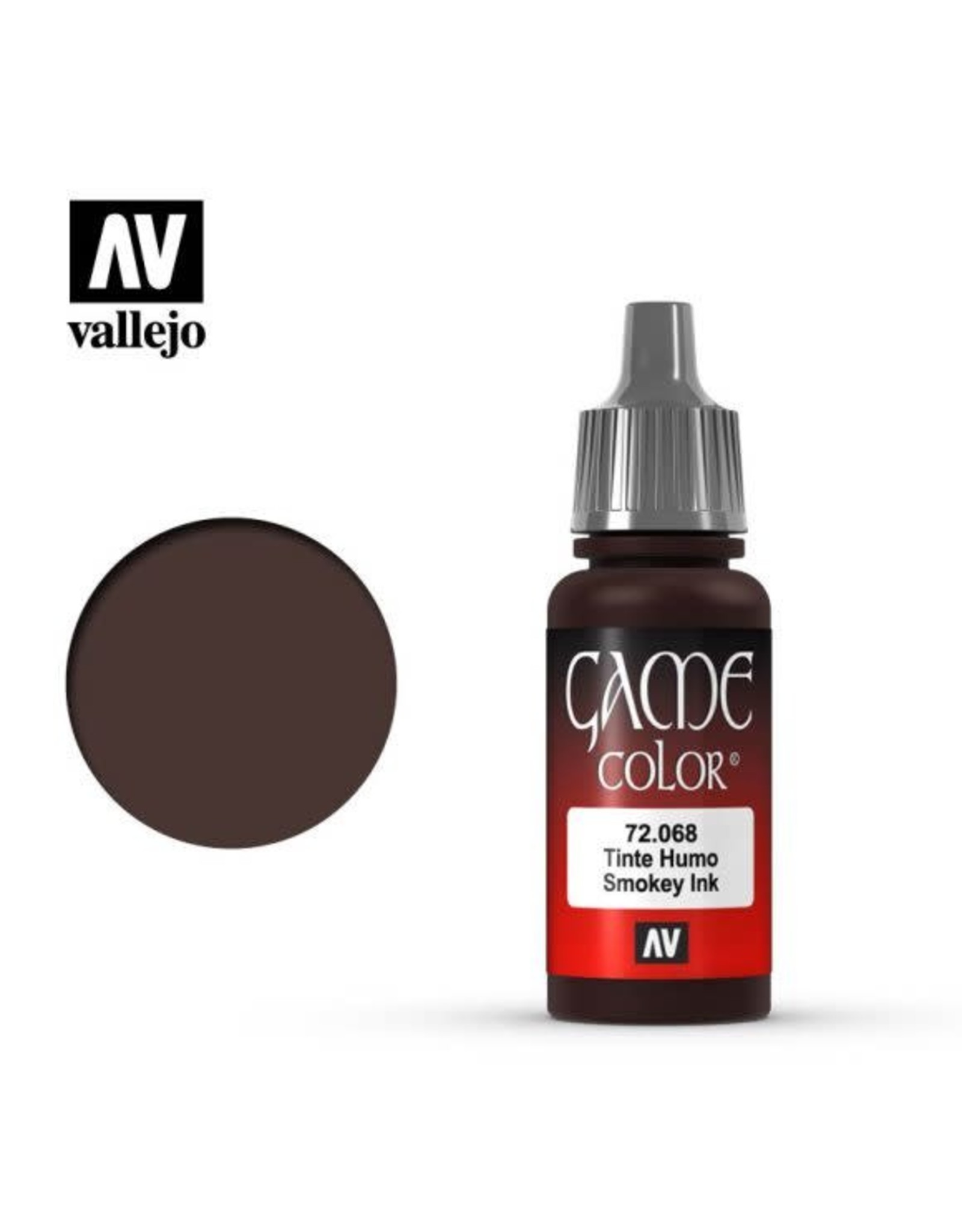 Vallejo Vallejo Game Color Paint: Smokey Ink 72.068