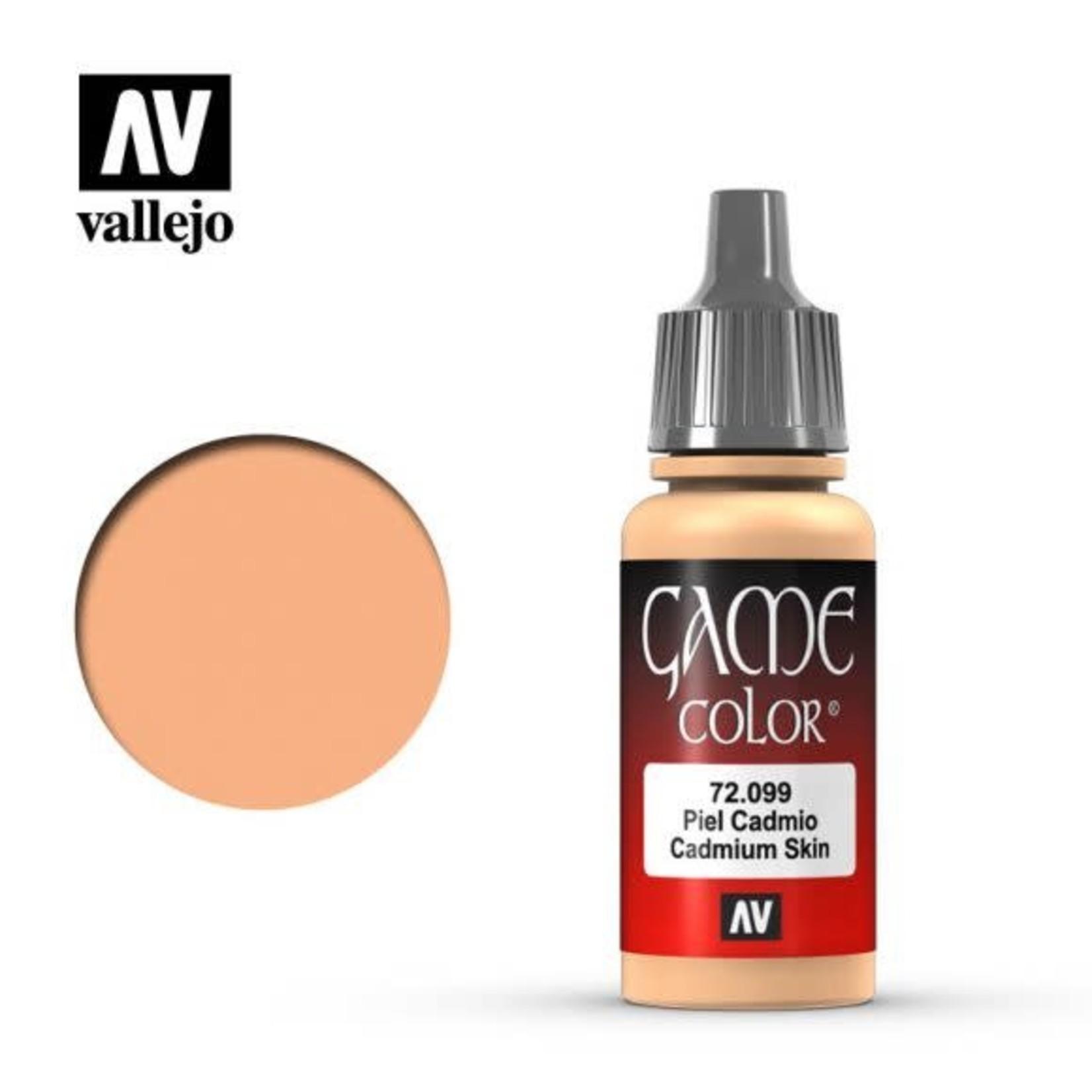 Vallejo Vallejo Game Color Paint: Cadmium Skin 72.099