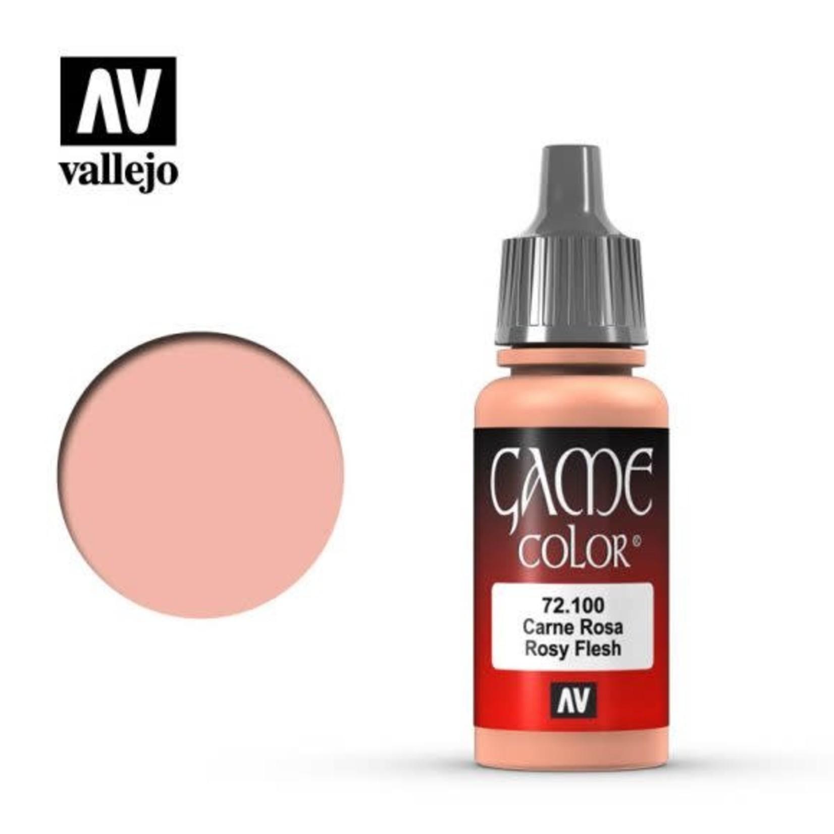 Vallejo Vallejo Game Color Paint: Rosy Flesh 72.100