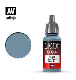 Vallejo Paint: Steel Grey 72.102