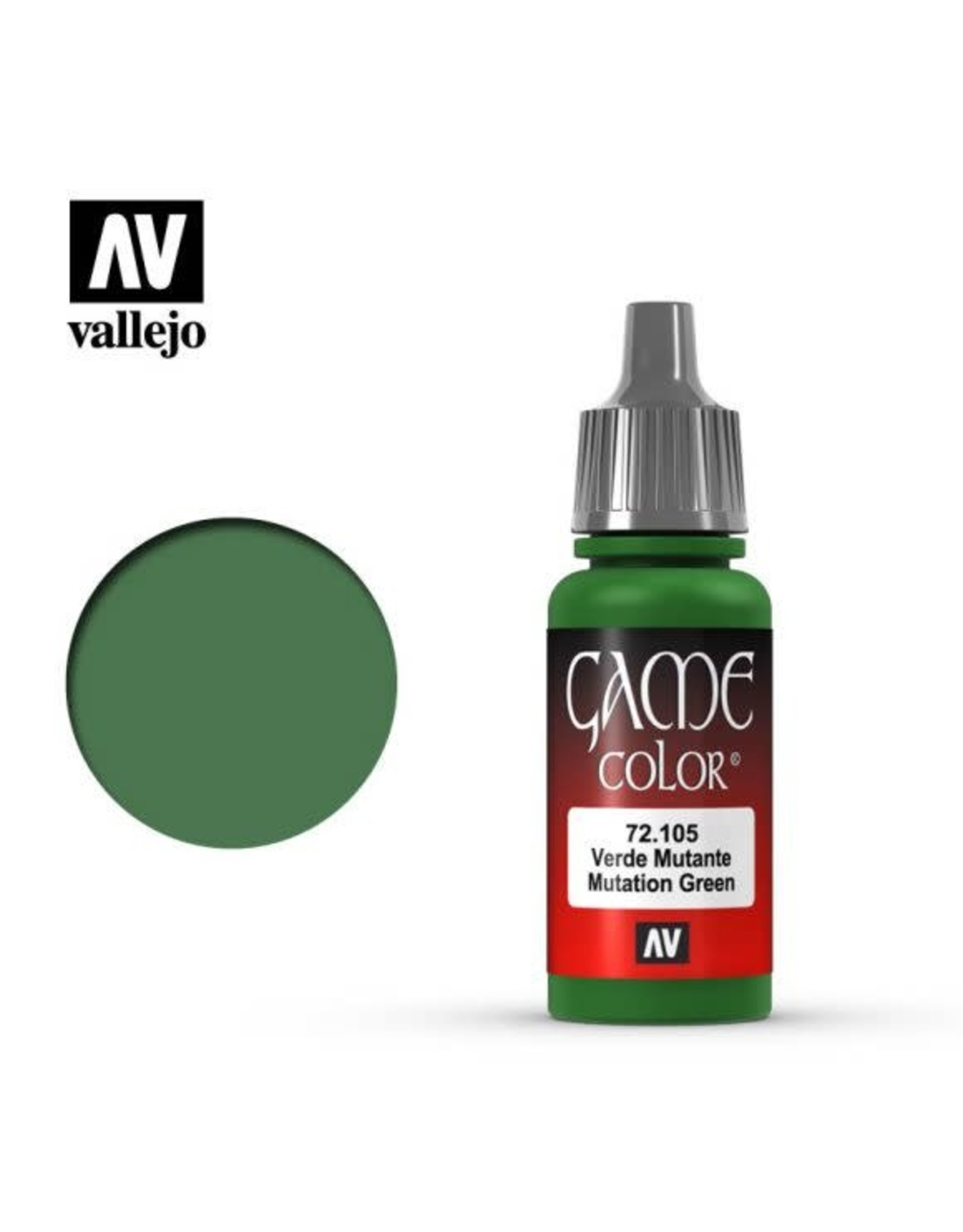 Vallejo Vallejo Game Color Paint: Mutation Green 72.105