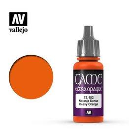 Vallejo Paint: Heavy Orange 72.152