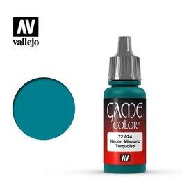 Vallejo Paint: Turquoise 72.024