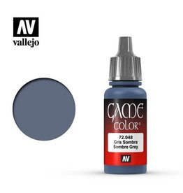 Vallejo Paint: Sombre Grey 72.048