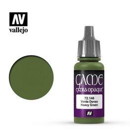 Vallejo Paint: Heavy Green 72.146