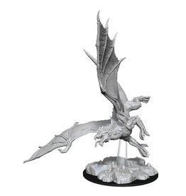 WizKids D&D Minis (unpainted): Young Green Dragon Wave 8, 73684
