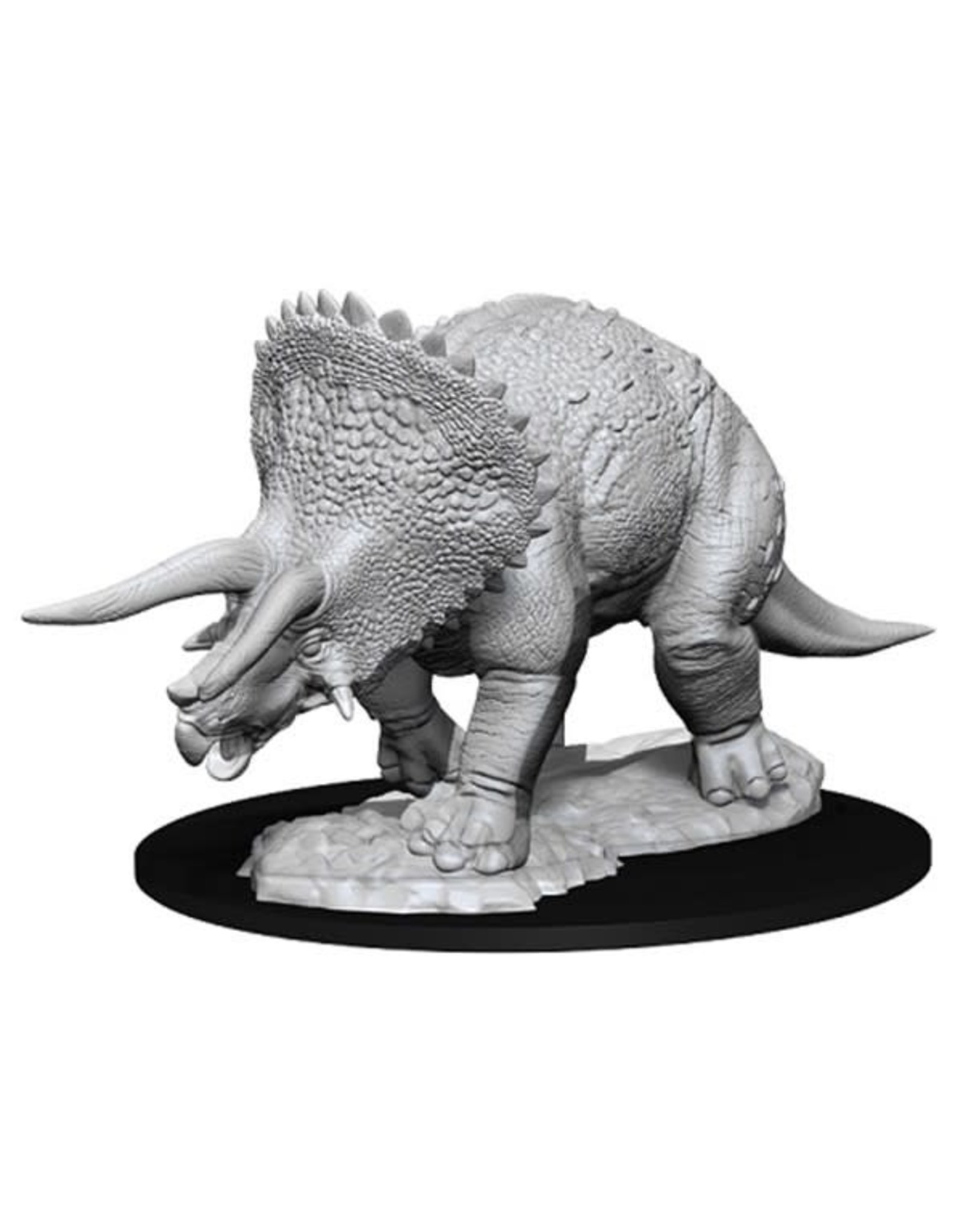 WizKids D&D Minis (unpainted): Triceratops Wave 7, 73533