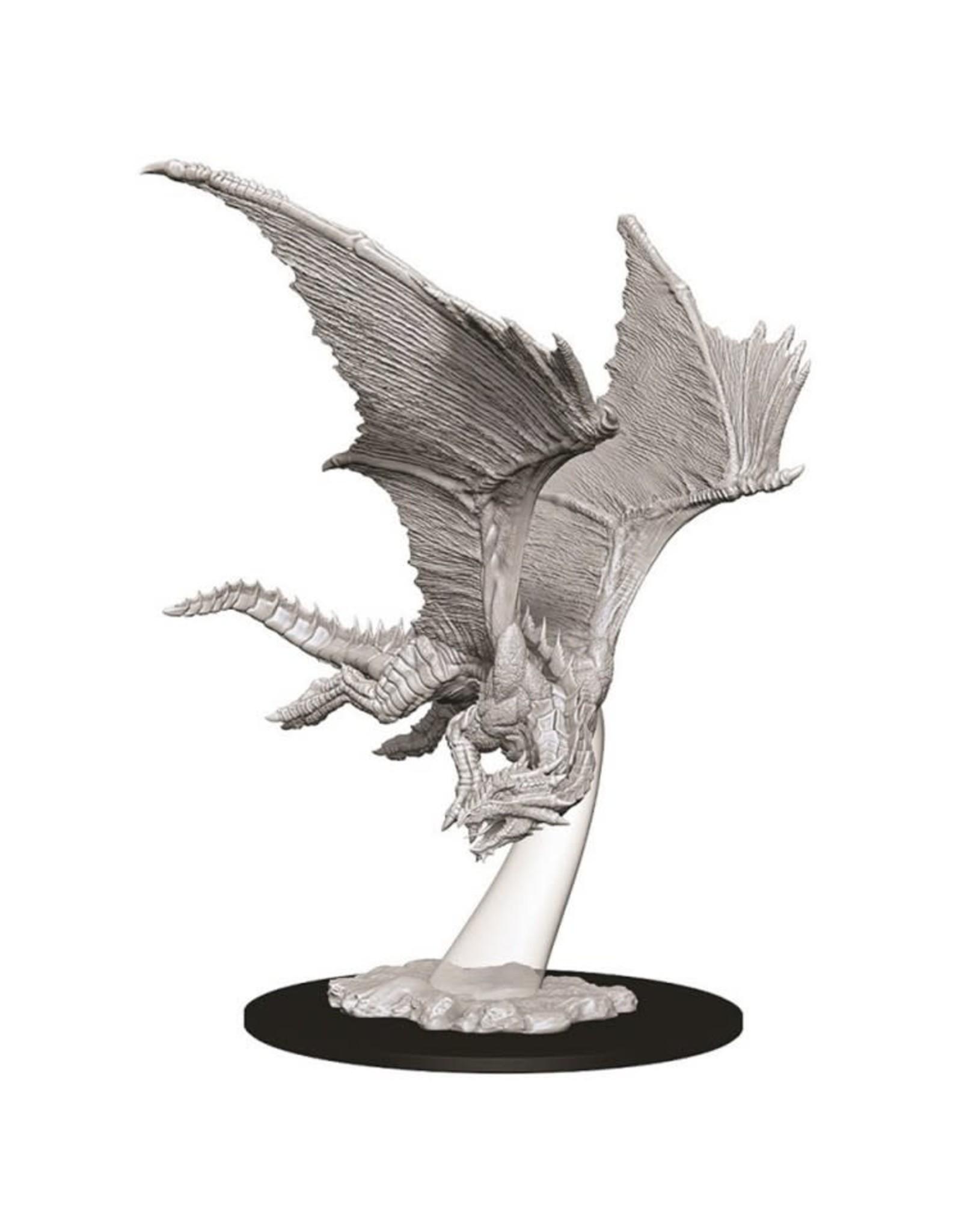 WizKids D&D Minis (unpainted): Young Bronze Dragon Wave 9, 73710
