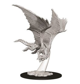 WizKids D&D Minis (unpainted): Young Bronze Dragon Wave 9, 73710