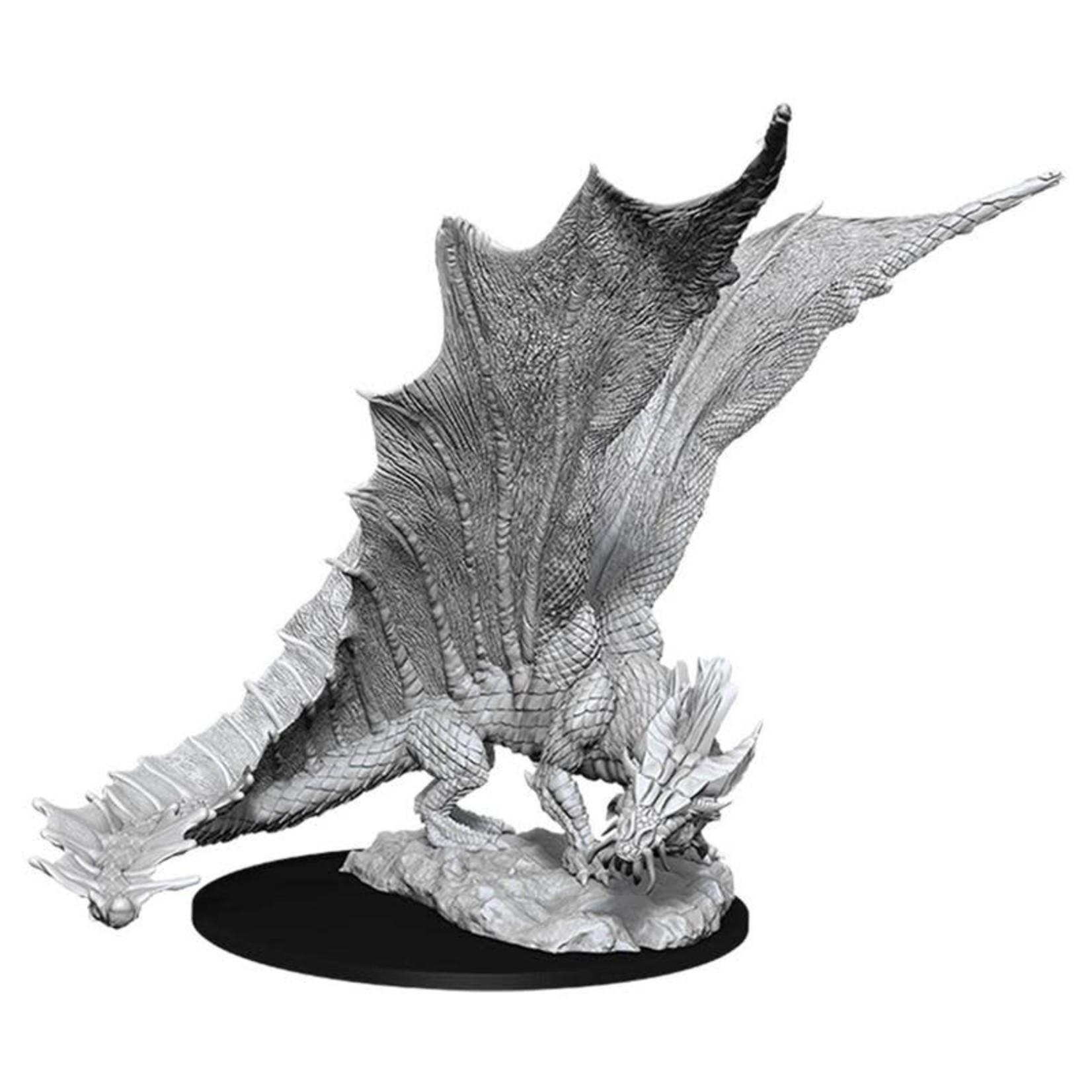 WizKids D&D Minis (unpainted): Young Gold Dragon Wave 11, 90034