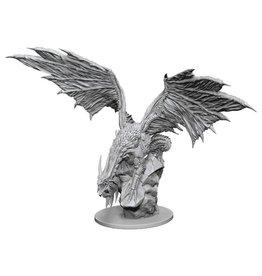 WizKids Pathfinder Minis (unpainted): Silver Dragon