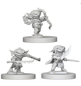 WizKids Pathfinder Minis (unpainted): Goblins Wave 1, 72579