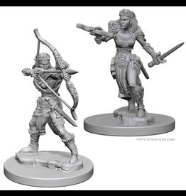 WizKids D&D Minis (unpainted): Elf Ranger (Female)