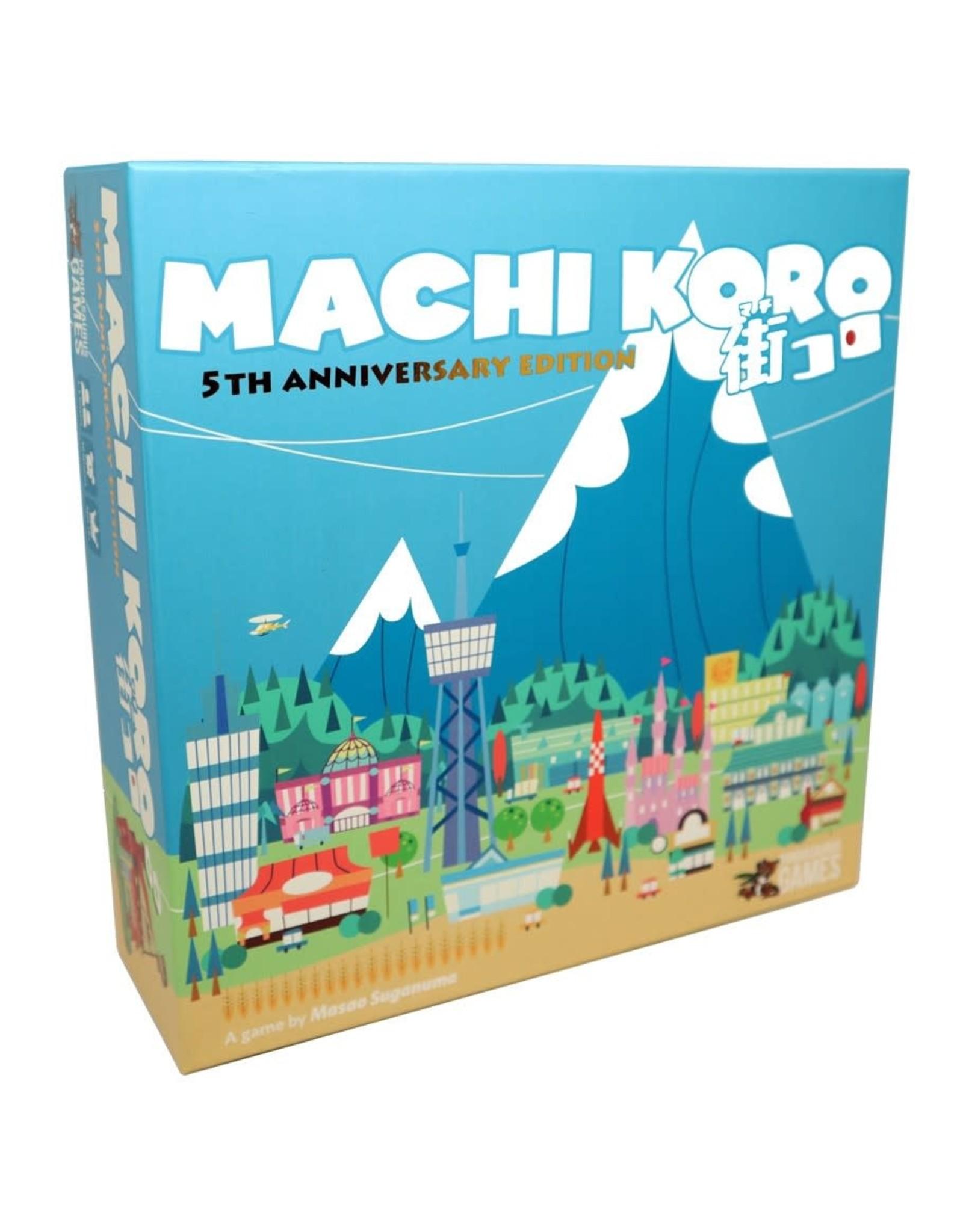 Pandasaurus Machi Koro 5th Anniversary