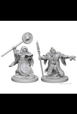 WizKids D&D Minis (unpainted): Dwarf Wizard (male) Wave 1, 72620