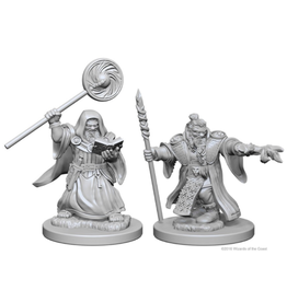 WizKids D&D Minis (unpainted): Dwarf Wizard (male)