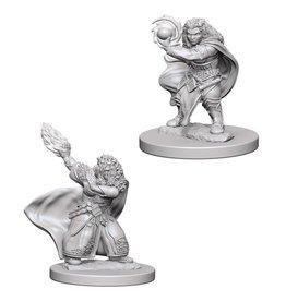 WizKids D&D Minis (unpainted): Dwarf Wizard (female)