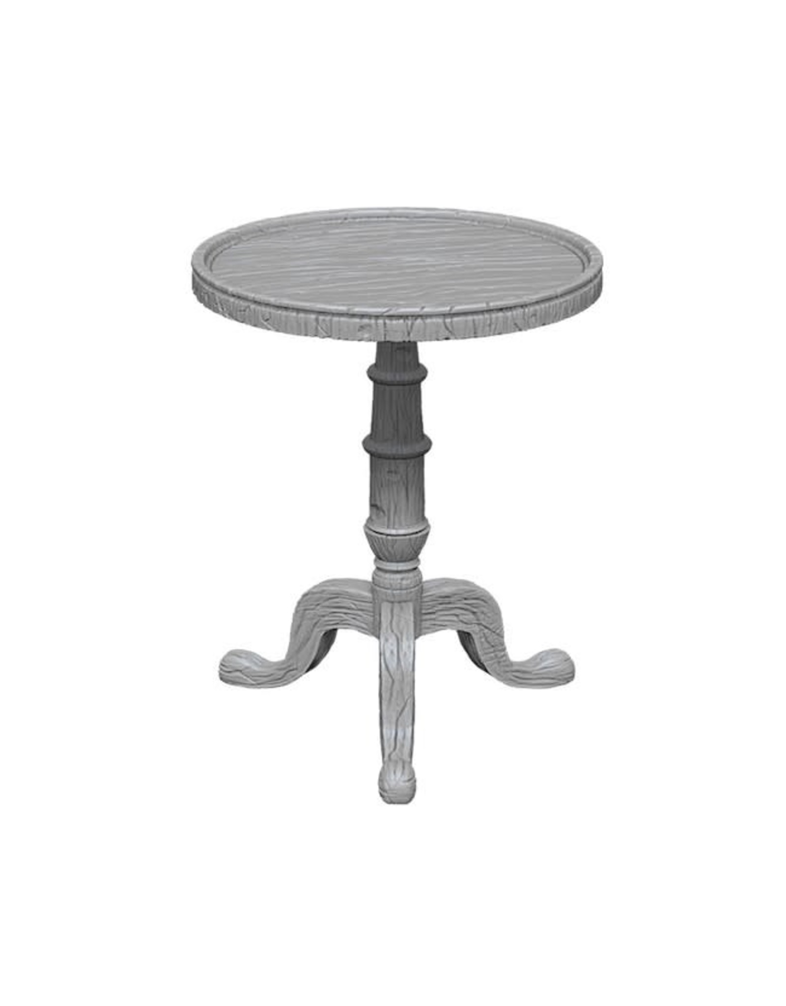 WizKids D&D Minis (unpainted): Small Round Tables Wave 5, 73365