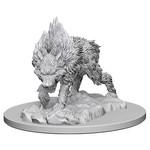 WizKids Pathfinder Minis (unpainted): Dire Wolf Wave 4, 73184