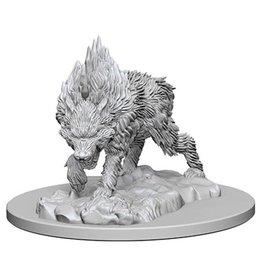 WizKids Pathfinder Minis (unpainted): Dire Wolf