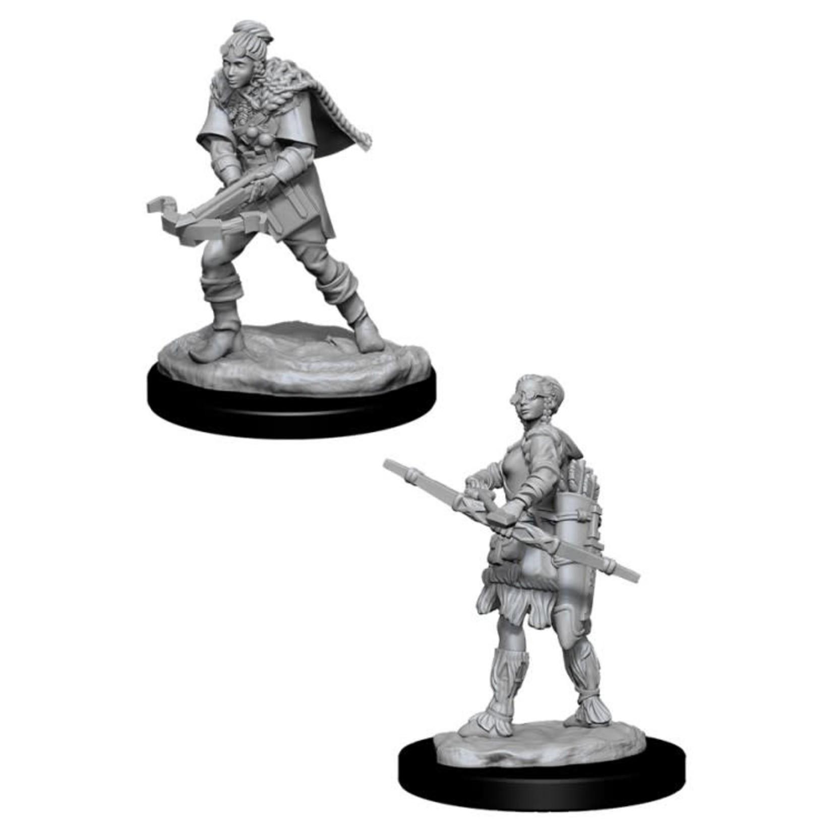 WizKids D&D Minis (unpainted): Human Ranger (female) Wave 1, 72636