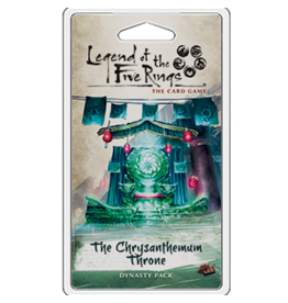 Fantasy Flight Games Legend of the Five Rings: The Card Game - The Chrysanthemum Throne