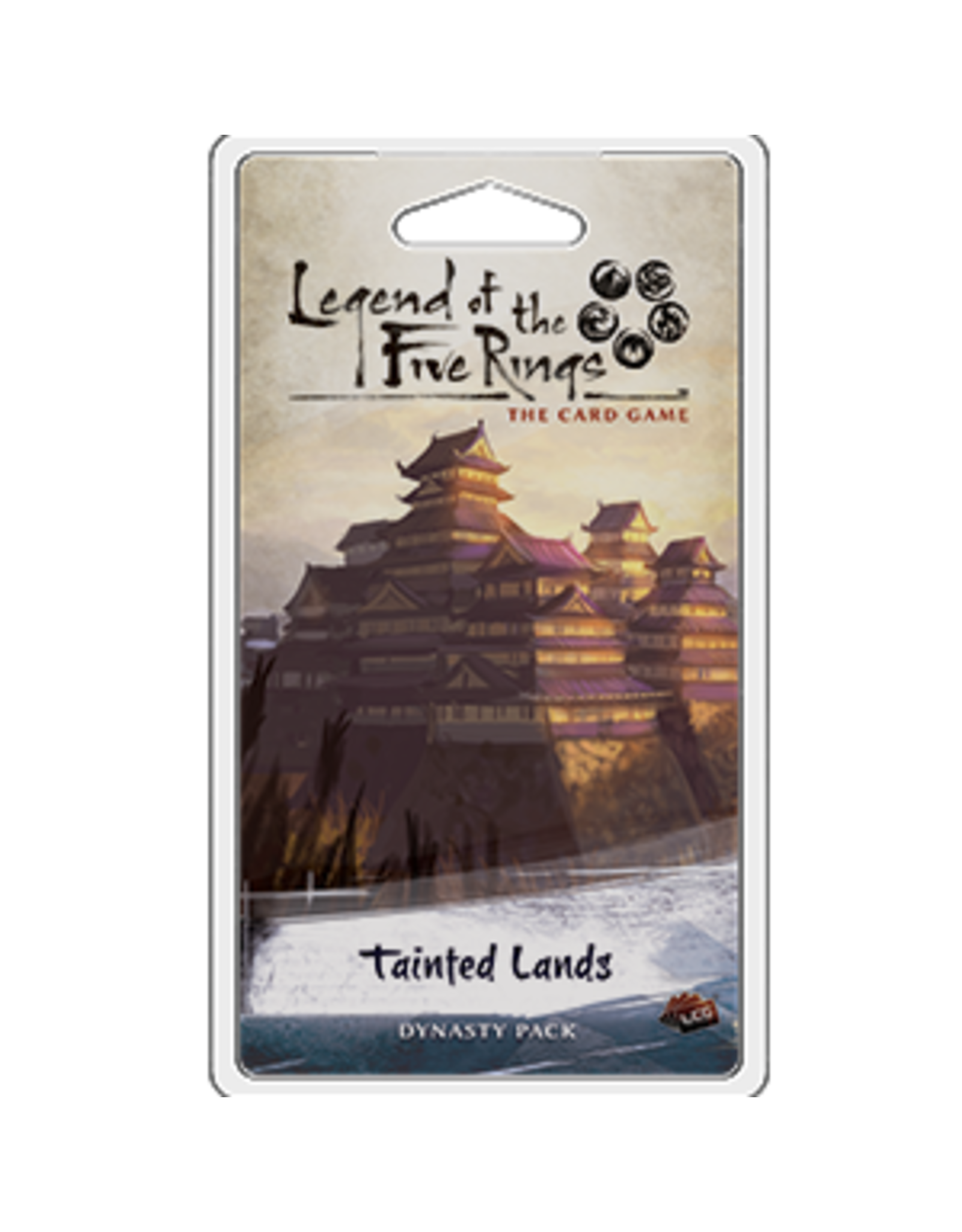 Fantasy Flight Games Legend of the Five Rings: The Card Game - Tainted Lands