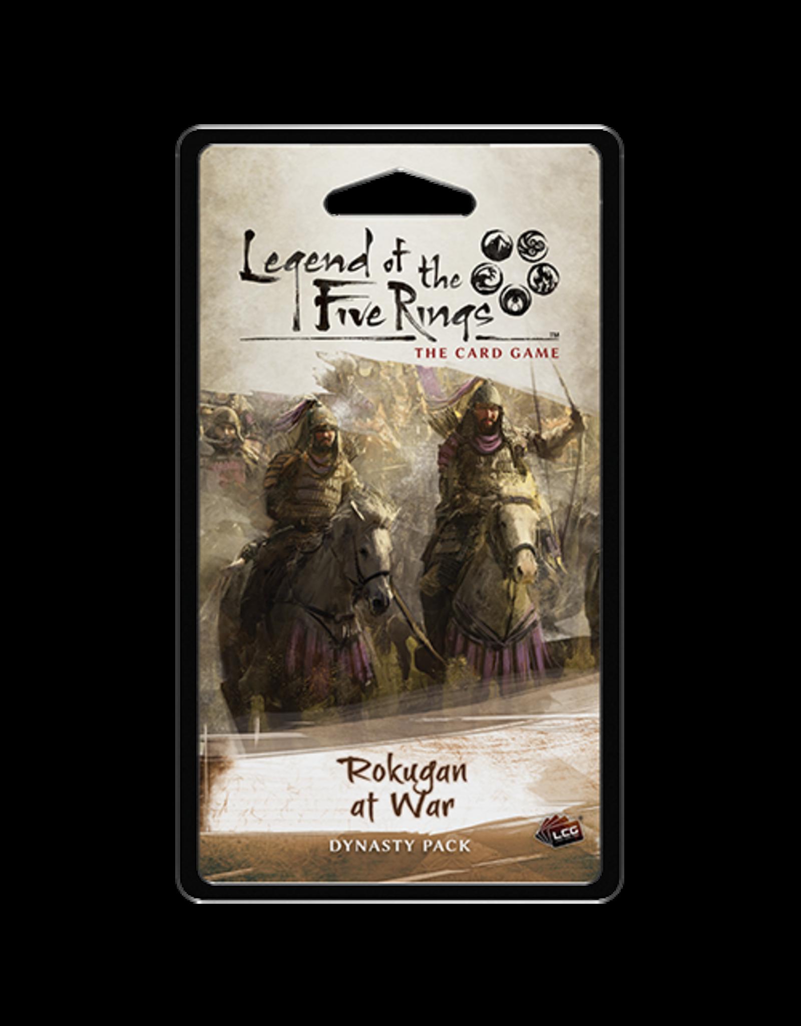Fantasy Flight Games Legend of the Five Rings: The Card Game - Rokugan at War