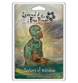 Fantasy Flight Games Legend of the Five Rings: The Card Game - Seekers of Wisdom (Dragon Clan Pack)