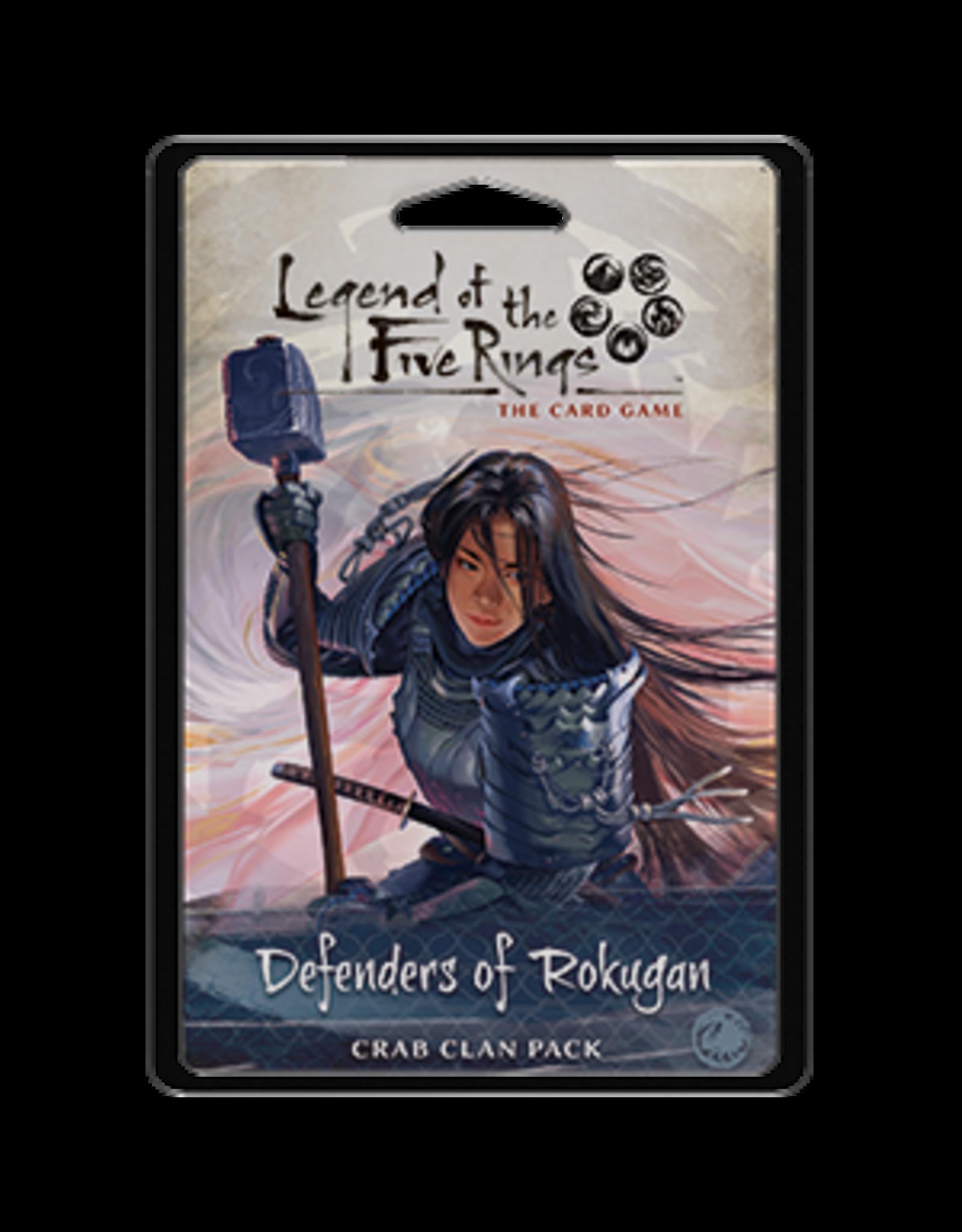Fantasy Flight Games Legend of the Five Rings: The Card Game - Defenders of Rokugan (Crab Clan Pack)
