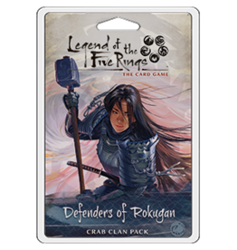 Fantasy Flight Games Legend of the Five Rings: The Card Game - Defenders of Rokugan (Crab Clan Pack)