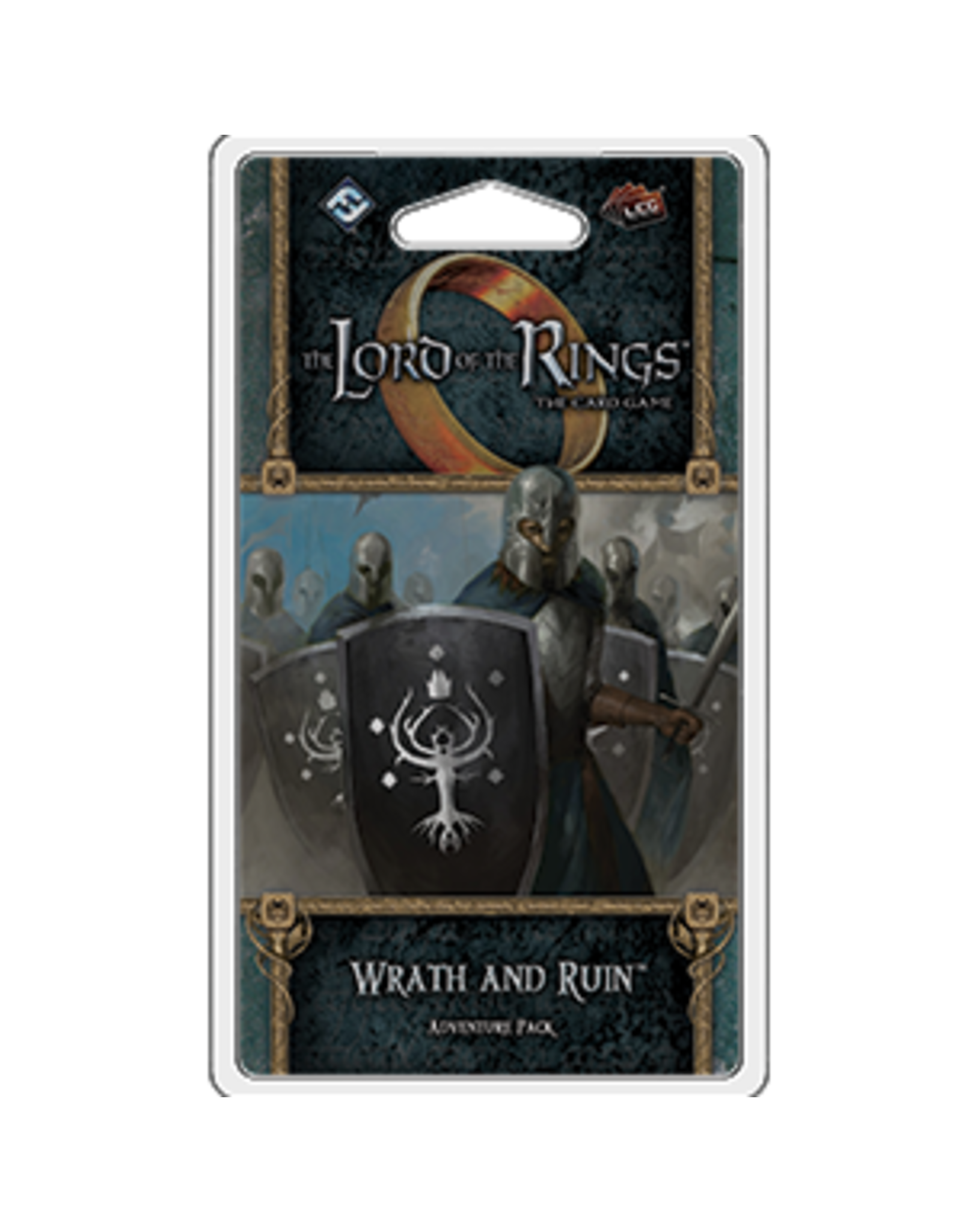 Fantasy Flight Games The Lord of the Rings: The Card Game - Wrath and Ruin