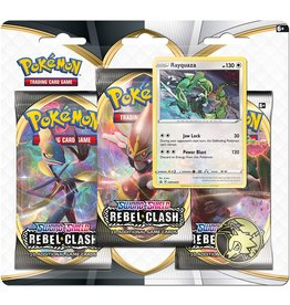 Pokémon Pokémon Rebel Clash 3-Booster Blister Pack