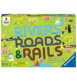 Ravensburger Rivers Roads & Rails