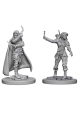 WizKids Pathfinder Minis (unpainted): Human Rogue (female) Wave 1, 72603