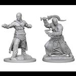 WizKids Pathfinder Minis (unpainted): Human Monk (male) Wave 1, 72612