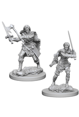 WizKids D&D Minis (unpainted): Human Barbarian (female) Wave 1, 72644