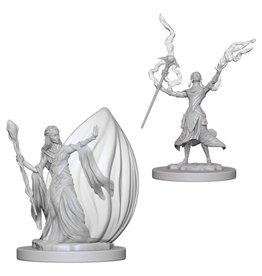 WizKids D&D Minis (unpainted): Elf  Wizard (female) Wave 3, 72623
