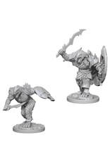 WizKids D&D Minis (unpainted): Dragonborn Fighter (male) Wave 4, 73198