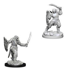 WizKids D&D Minis (unpainted): Dragonborn Paladin (female)
