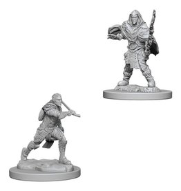 WizKids D&D Minis (unpainted): Elf Fighter (male) Wave 6, 73384
