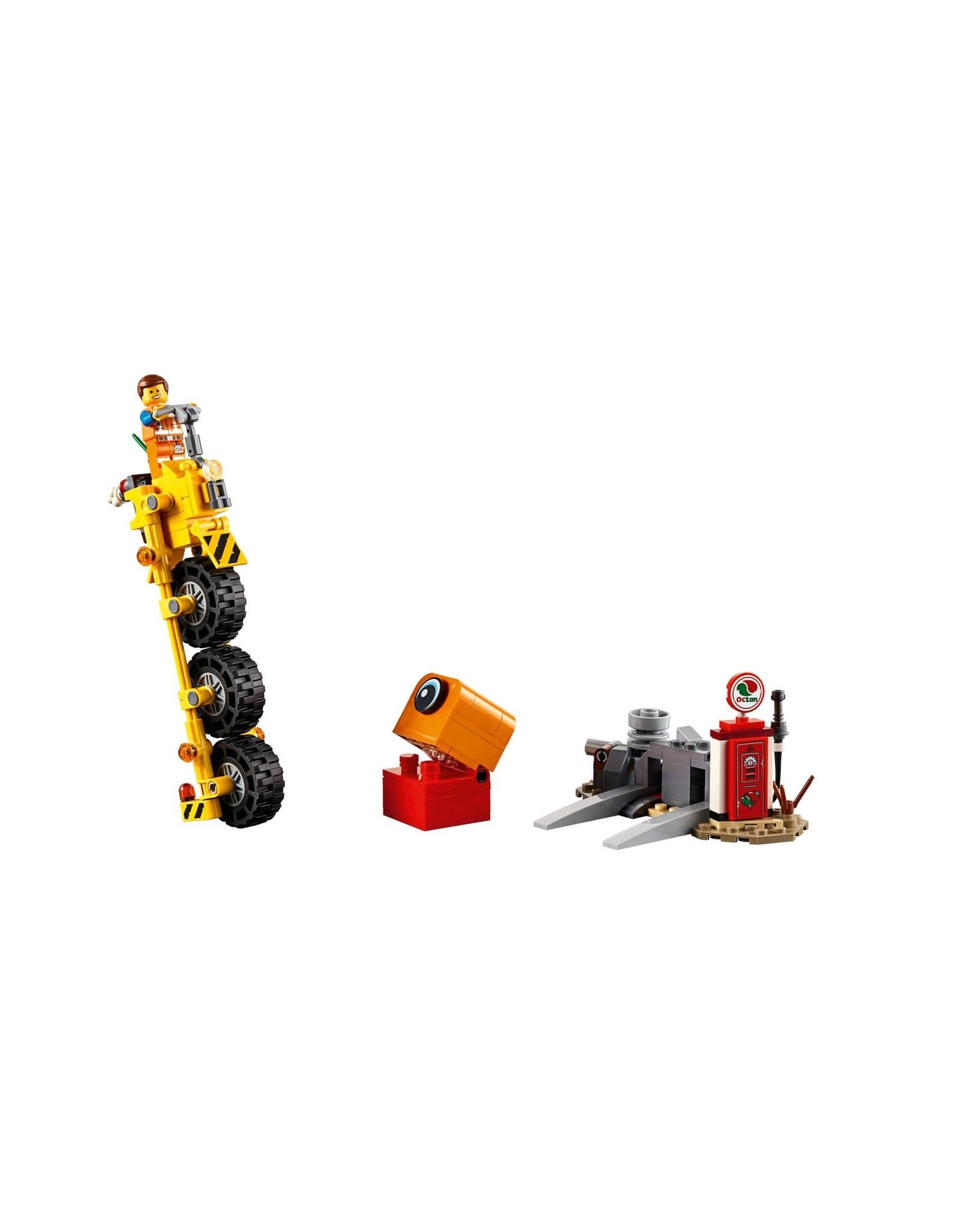LEGO LEGO Movie 2 Emmet's Thricycle!