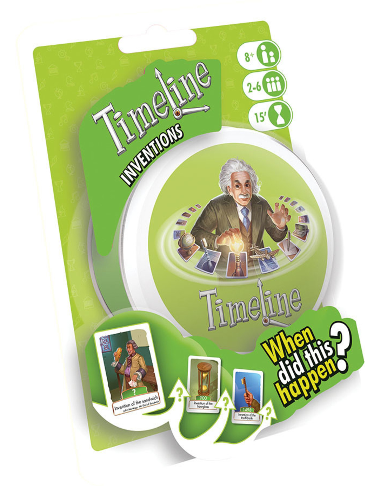 Asmodee Timeline Inventions