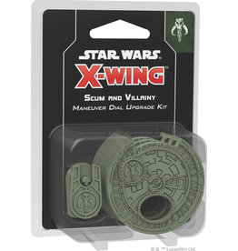 Fantasy Flight Games SW X-Wing 2E Scum Maneuver Dial