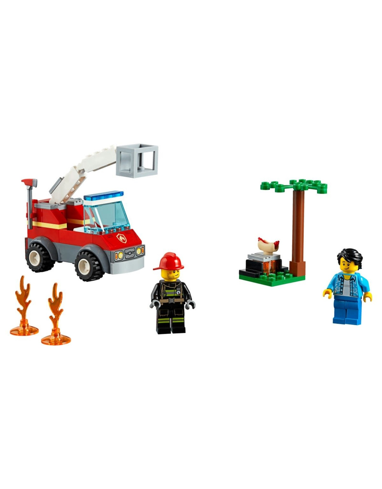 LEGO LEGO City Barbecue Burn Out