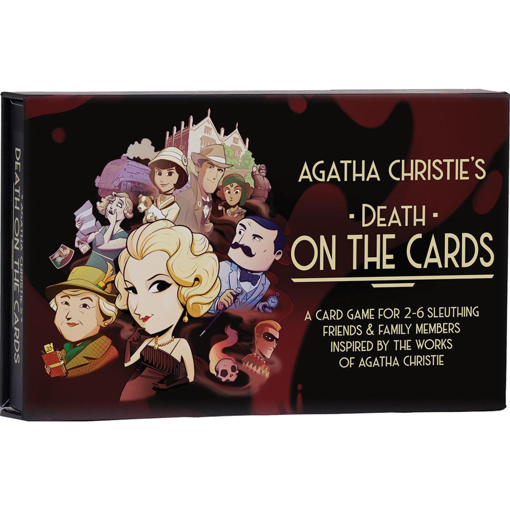 Modiphius Agatha Christie's Death on the Cards